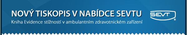 Nový tiskopis v nabídce  SEVTu