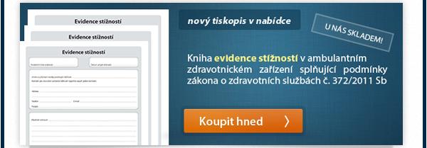 Nový tiskopis v nabídce