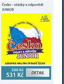 Česko - otázky a odpovědi - JUNIOR