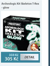 Archeologic Kit Skeleton T-Rex - glow