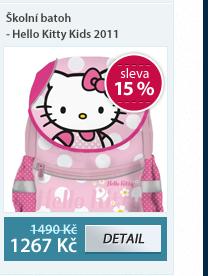 Školní batoh - Hello Kitty Kids 2011
