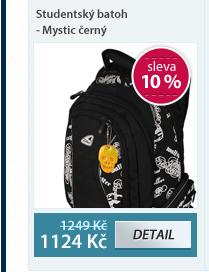 Studentský batoh - Mystic černý