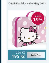 Dětský kufřík - Hello Kitty vzor 2011