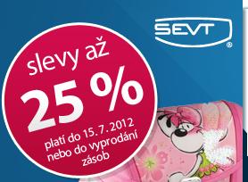Slevy až 25 % platí do 15. 7. 2012 nebo do vyprodání zásob