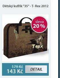 """Dětský kufřík """"35"""" - T- Rex vzor 2012"""