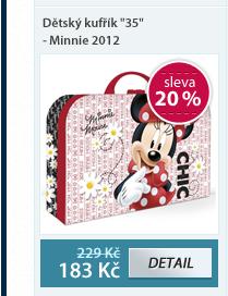 "Dětský kufřík ""35"" - Minnie vzor 2012"