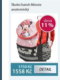 PP Školní batoh Minnie anatomický- vzor 2012