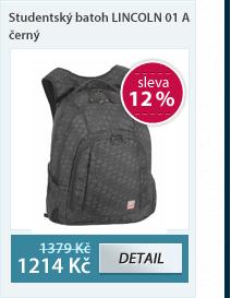 Studentský batoh NIE 14 A - modro-černý