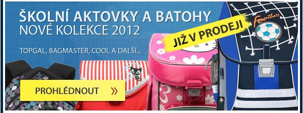 Školní aktovky a batohy 2012
