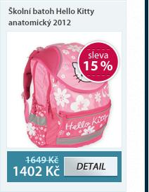 PP Školní batoh Hello Kitty anatomický vzor 2012