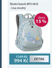 Školní batoh BPS 08 B - Lisa modrý
