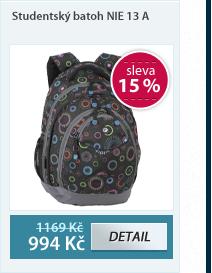Studentský batoh NIE 13 A