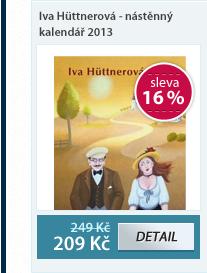 Iva Hüttnerová - nástěnný kalendář 2013