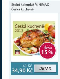 MINIMAX Stolní kalendář - Česká kuchyně