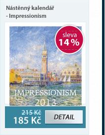HELMA Nástěnný kalendář - Impressionism