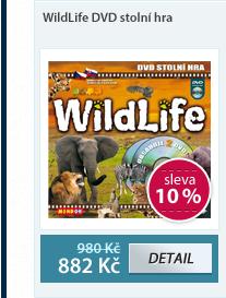 WildLife DVD stolní hra