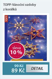 TOPP-Vánoční ozdoby z korálků