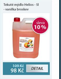 Helios Tekuté mýdlo 5 l - vanilka broskev