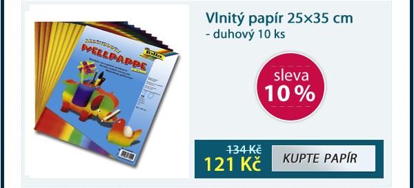 Filcový papír 150 g - barevný mix 10 listů