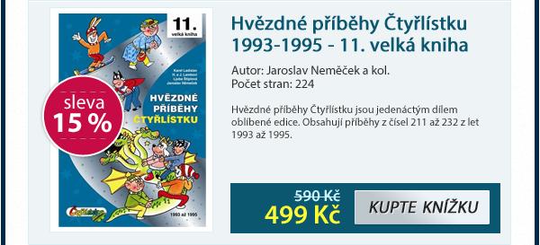 Hvězdné příběhy Čtyřlístku 1993-1995 - 11. velká kniha