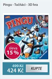 Pingu - Tučňáci - 3D hra