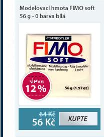 Modelovací hmota FIMO soft 56 g - 0 barva bílá