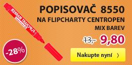 Popisovač 8550 na flipcharty