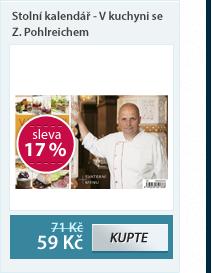 HELMA Stolní kalendář - V kuchyni se Z.Pohlreichem
