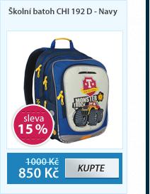 Školní batoh CHI 192 D - Navy