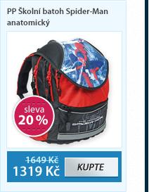 PP Školní batoh Spider-Man anatomický