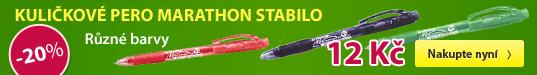 Kuličkové pero marathon