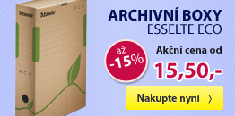 Archivní boxy Esselte