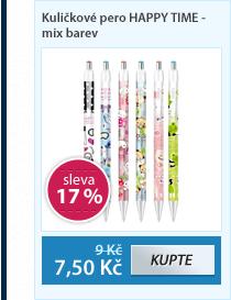 Kuličkové pero HAPPY TIME