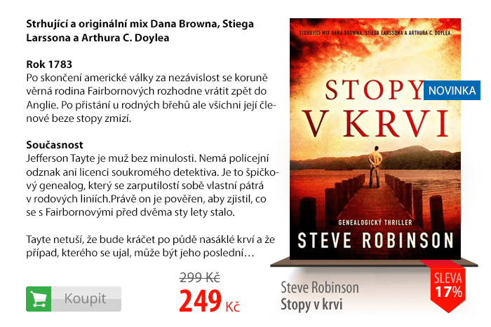 Steve Robinson Stopy v krvi