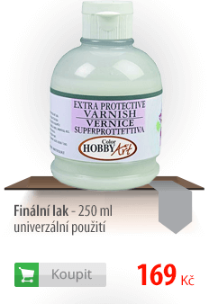 Finální lak - 250 ml - univerzální použití
