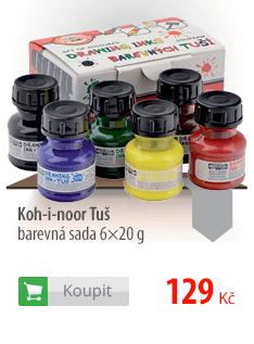 Koh-i-noor Tuš barevná sada 6×20 g