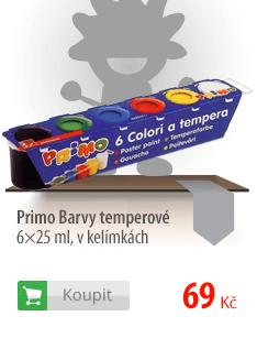 Primo Barvy temperové 6×25 ml
