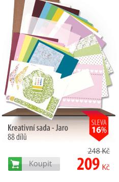 Kreativní sada - Jaro - 88 dílů