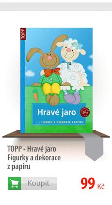 TOPP - Hravé jaro - Figurky a dekorace z papíru