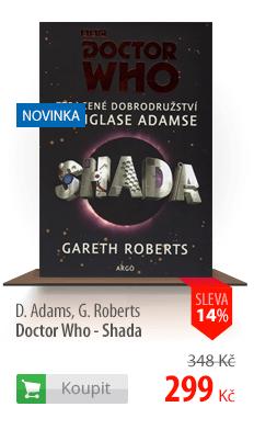 Doctor Who Shada kniha