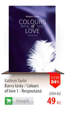 Barvy lásky Nespoutaná kniha