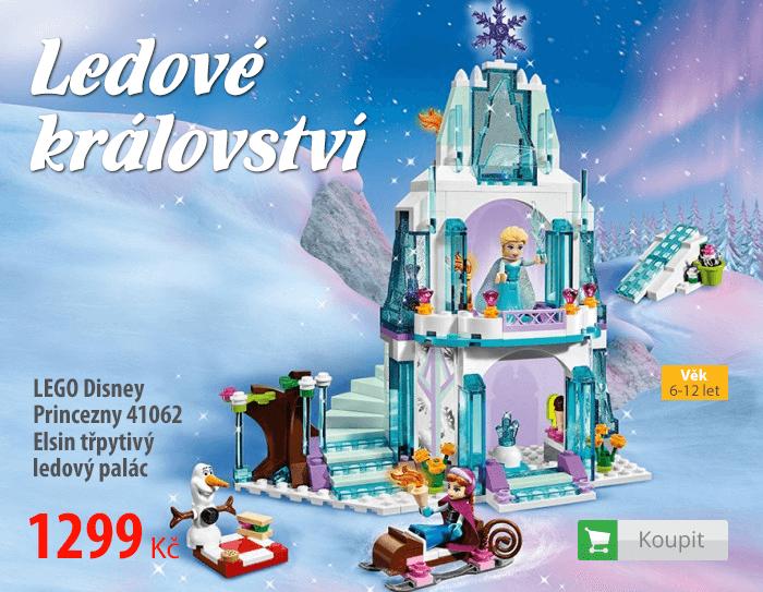 LEGO Disney Princezny Elsin třpytivý ledový palác