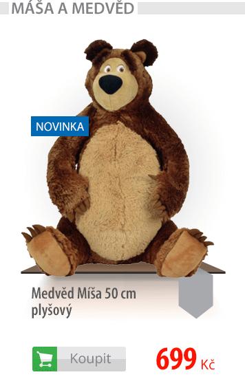 Medvěd Míša plyšový