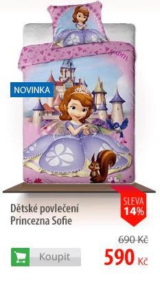 Dětské povlečení Princezna Sofie