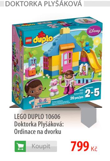 LEGO DUPLO Doktorka Plyšáková Ordinace na dvorku
