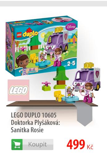 LEGO DUPLO Doktorka Plyšáková Sanitka Rosie