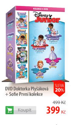 DVD Doktorka Plyšáková + Sofie První