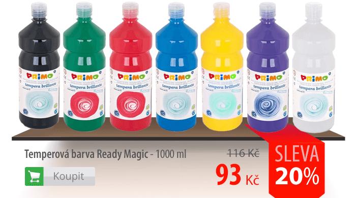 Temperové barvy Ready Magic