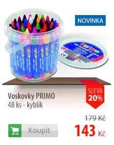 Voskovky Primo kyblík