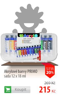 Akrylové barvy Primo sada
